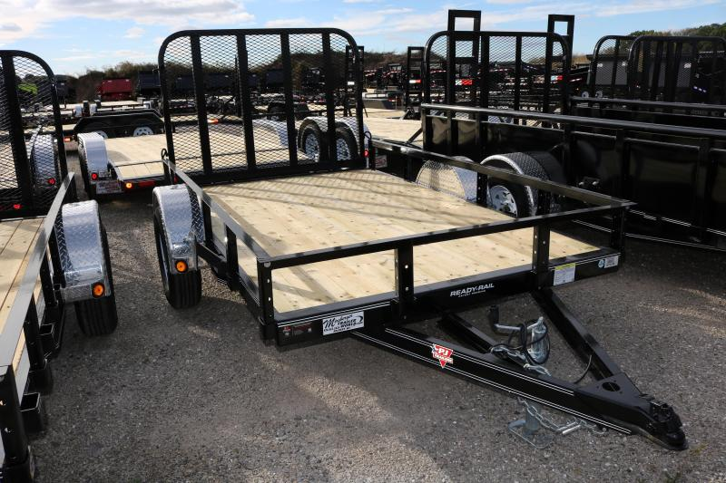 "2018 PJ Trailers 10'x72"" Channel Utility Trailer"