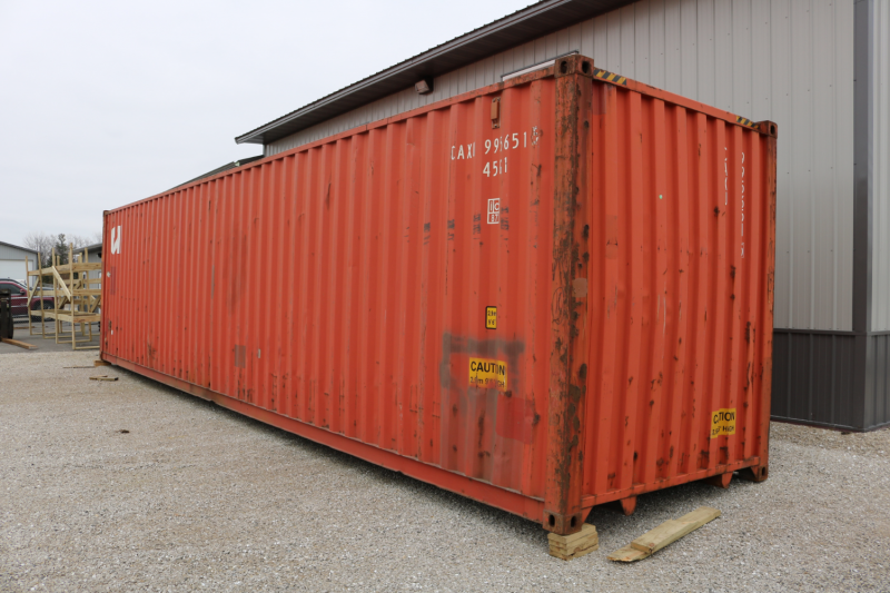 40' Storage Unit Box