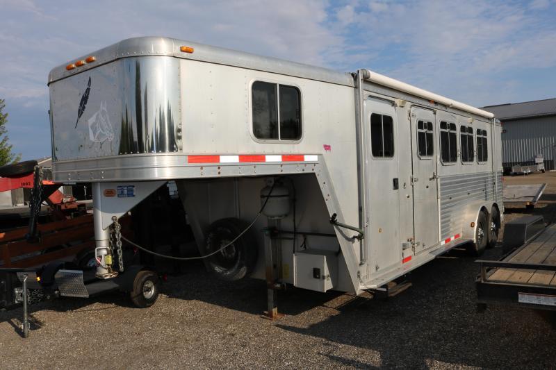 2001 Featherlite 7x22' 3 Horse Slant Trailer