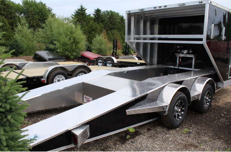 2017 Rugged Terrain Aluminum Truss Racing Trailer