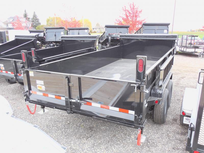 2018 Quality Steel and Aluminum 83x16 with Tarp Dump Trailer