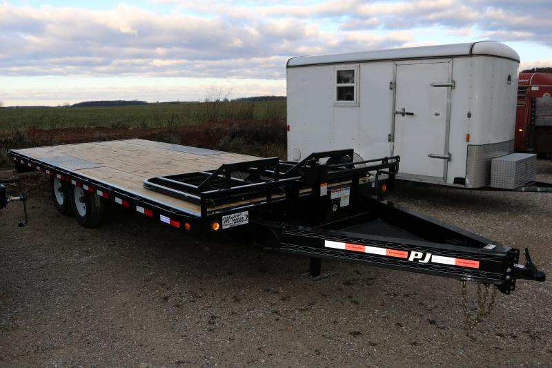 2018 PJ Trailers 20' I-Beam Deckover Trailer