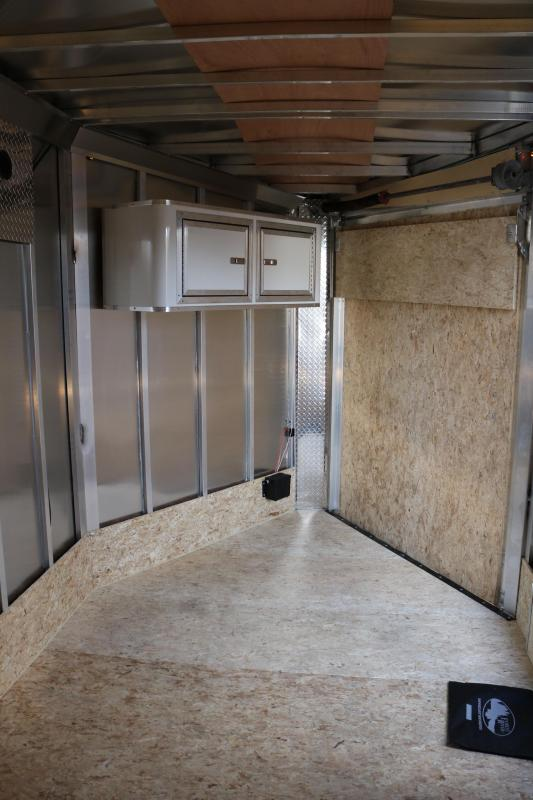 2018 Forest River Inc. 7x19' Tundra Snowmobile Trailer