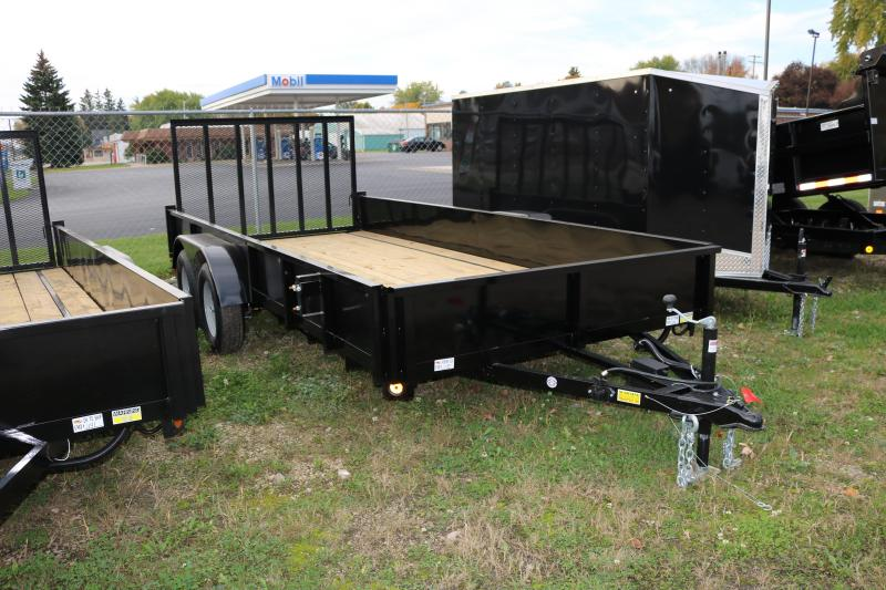 "2018 Quality Steel 82""x16' TA Trailer"