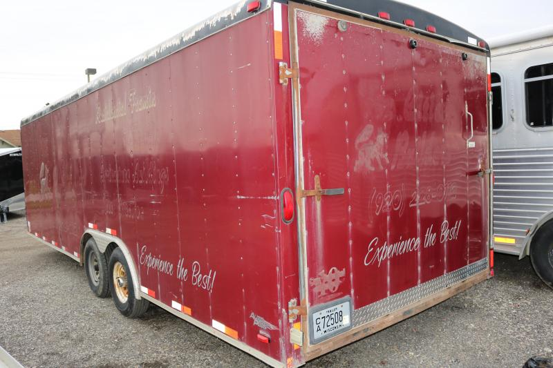 2008 Forest River Inc. 24' Enclosed Cargo Trailer