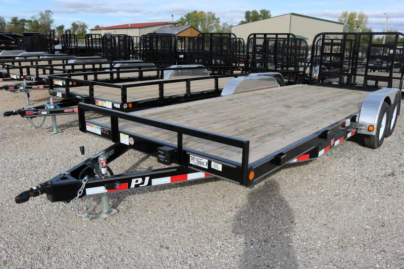 "2018 PJ Trailers 20'x5"" Channel Carhauler Trailer"