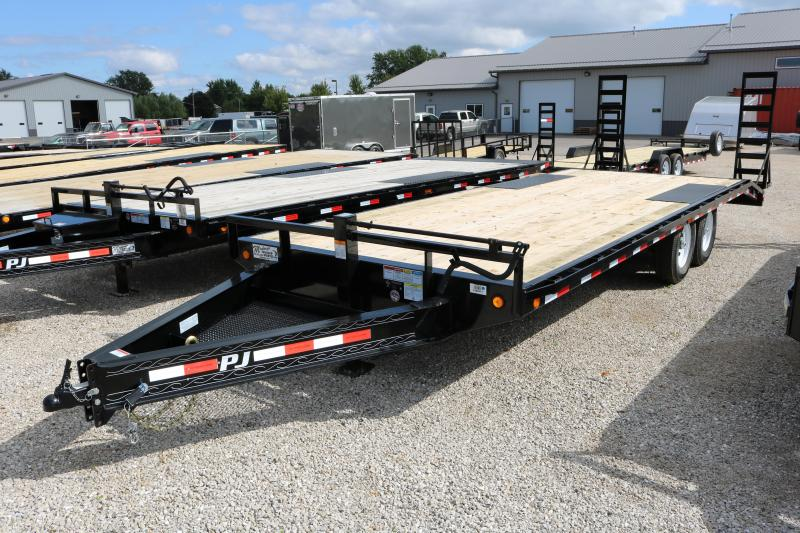 2018 PJ Trailers 22' Deckover Equipment Trailer