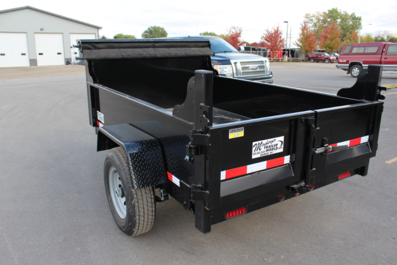 2018 Quality Steel 5x8 Dump Trailer