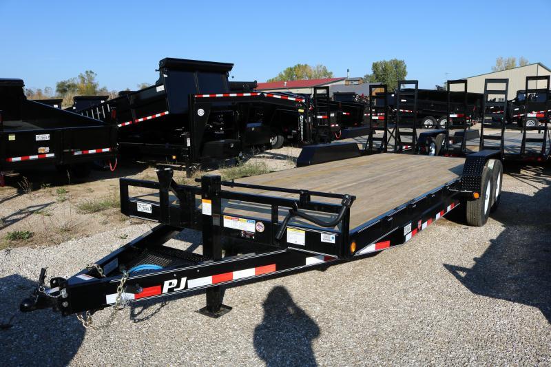 2018 PJ Trailers 22' CC Equipment Trailer