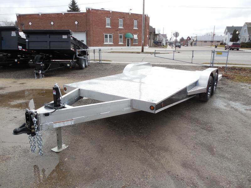 2016 Rugged Terrain 82x21 Aluminum Deluxe Truss Racing Trailer