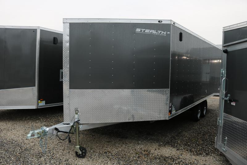 2018 Stealth Trailers 8.5x25' Tundra Snowmobile Trailer