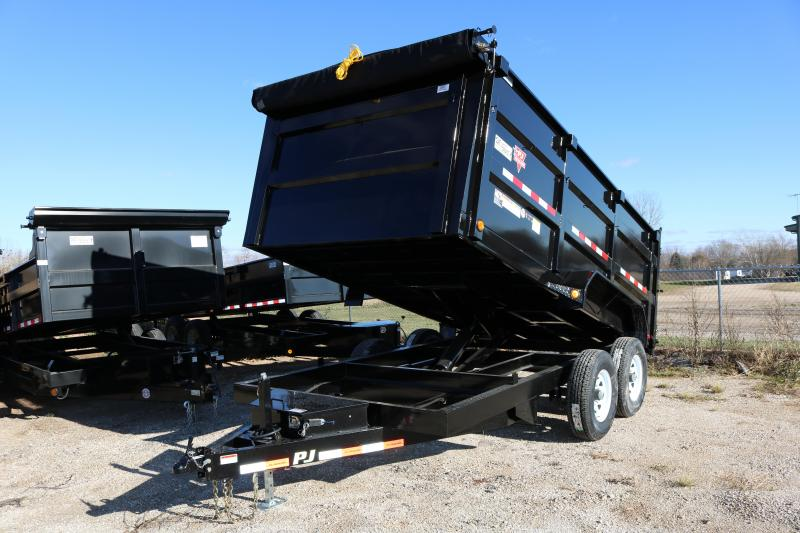 2018 PJ Trailers 14' High Side Dump DH Trailer