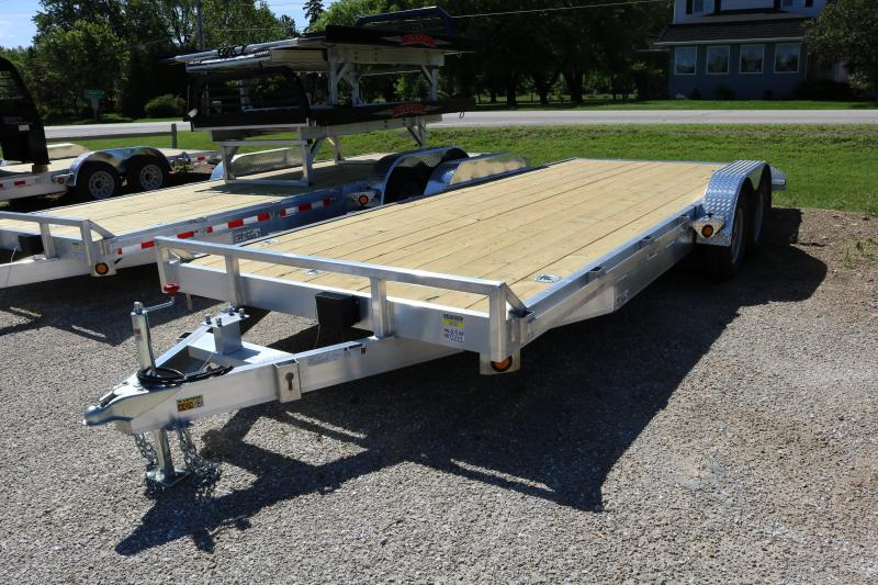2018 Quality Steel 83x20 7K Trailer