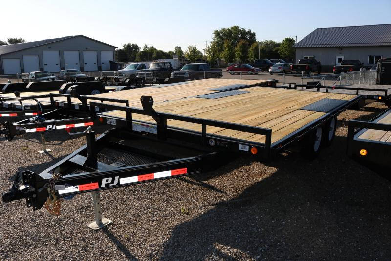 "2018 PJ Trailers 16' Deckover 6"" Channel Trailer"