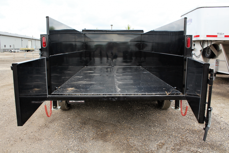 2018 Quality Steel and Aluminum 83x14' Dump Trailer