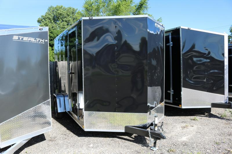 2017 Stealth Trailers 7x12 Mustang Trailer
