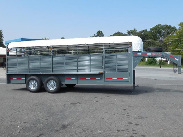 2015 Other Rollin-S GN 20 Stock Stock / Stock Combo Trailer