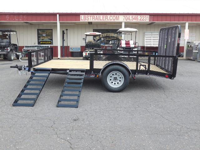2017 Load Trail BP 83 x 12 SA Utility Trailer