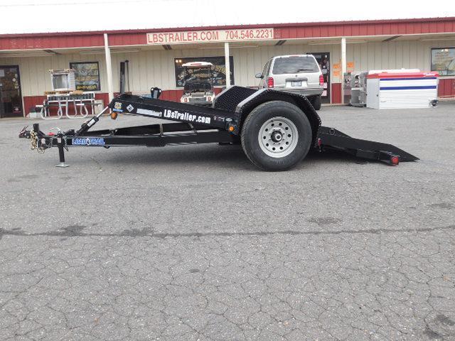 2017 Load Trail 77in x 12ft Scissor Hauler Equipment Trailer