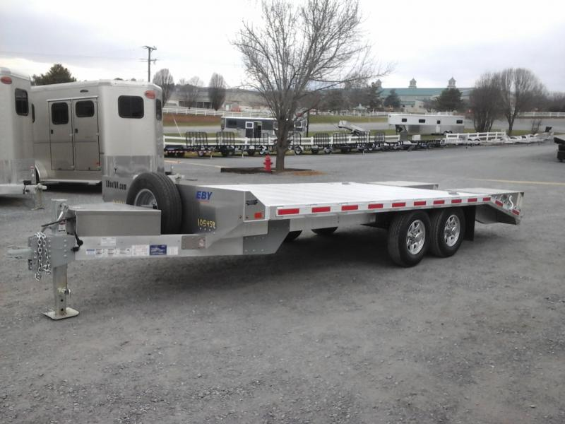 2018 Eby Trailers 20x102 Deckover Flatbed Trailer