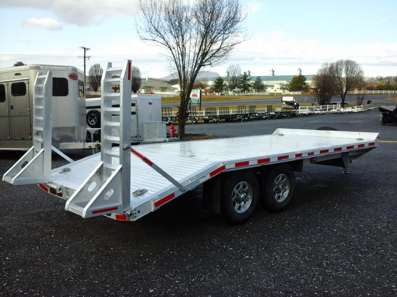 2014 Eby Trailers 102x20 Deckover Equipment Trailer