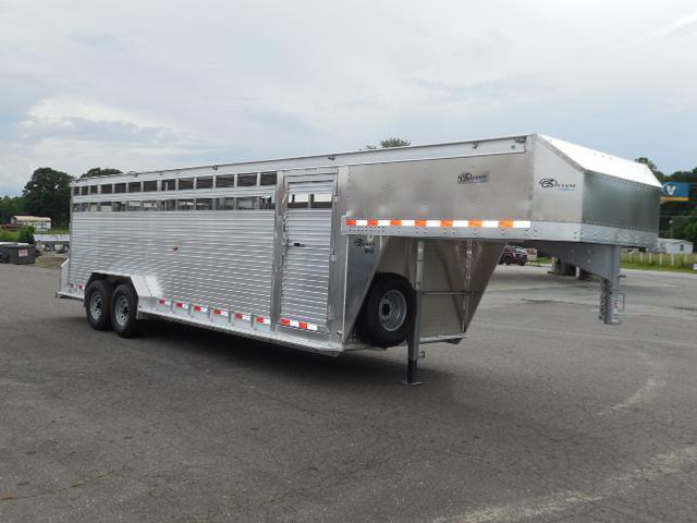 2017 Barrett Trailers GN 24ft Livestock Trailer