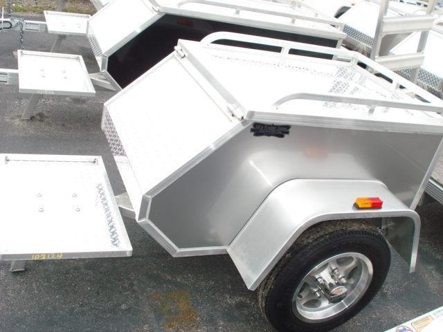 2011 Aluma MCT Motorcycle Trailer