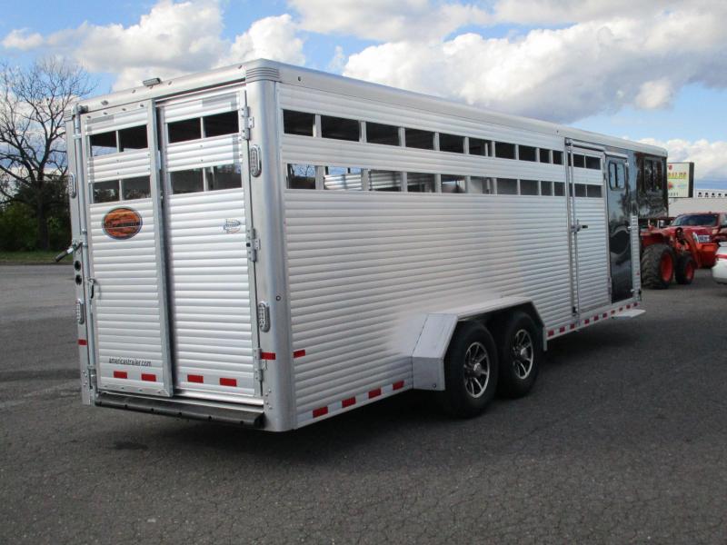 2018 Sundowner Trailers GN 24ft Rancher TR Livestock Trailer