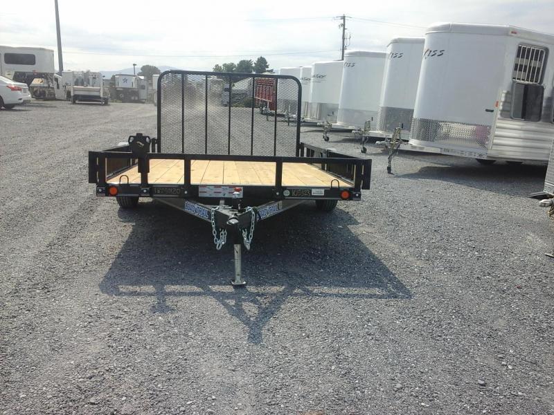 2018 Load Trail 83 x 12 Single Axle Utility Trailer