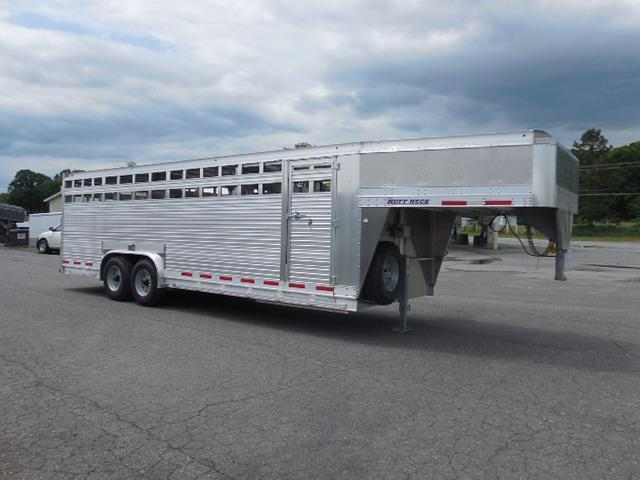 2017 Eby Trailers 24ft Ruffneck Stock / Stock Combo Trailer
