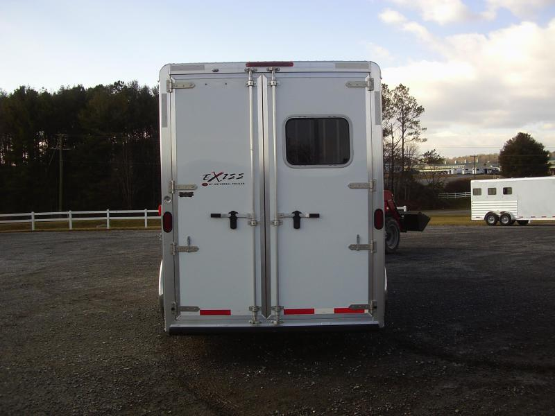 Clearance 2015 Exiss 4H SL GN TR Horse Trailer