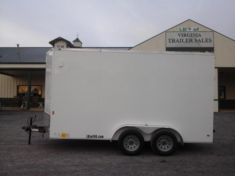 2018 Forest River Inc. 7x14 TA Continental Cargo Trailer