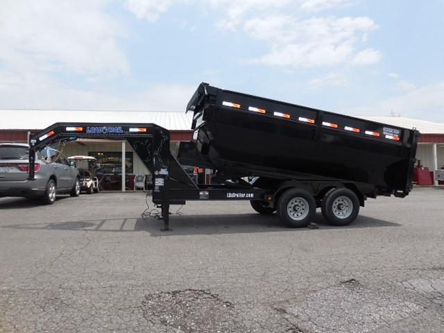 2017 Load Trail GN 83 x 14 Drop-N-Go (frame only) Equipment Trailer