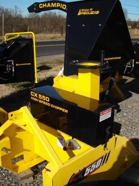 2015 Pequea Chipper CX550