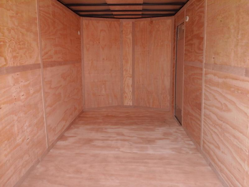 2018 Forest River Inc. 7x16 Tandem Axle Cargo Trailer