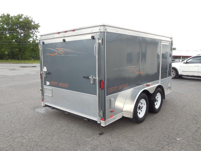 2007 United Trailers BP 2 Bike Motorcycle Trailer
