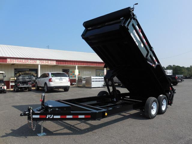 2018 PJ Trailers BP 16 x 83 Low Pro XL Dump Trailer