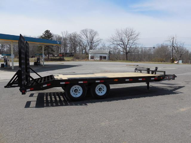 "2016 PJ Trailers BP 18 x 8"" I-Beam Deckover Equipment Trailer"