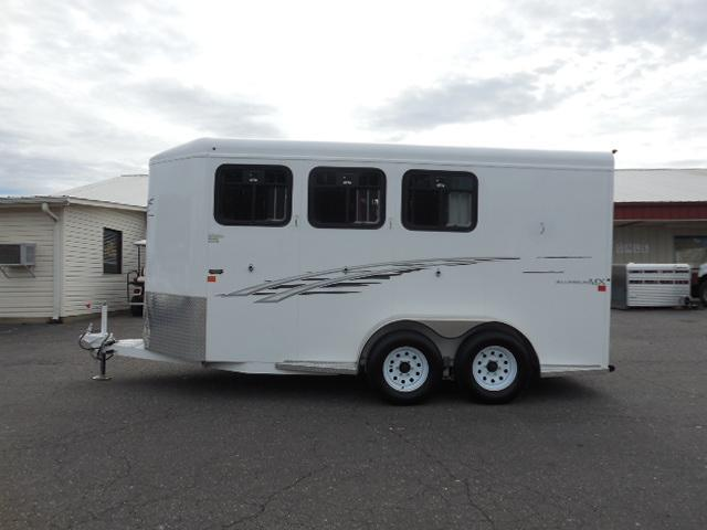 2015 Trails West Manufacturing BP 3H Horse Trailer