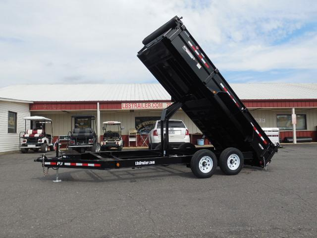 2018 PJ Trailers BP 16ft x 83in Low Pro XL Dump Trailer