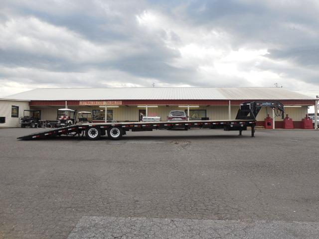 2017 Load Trail GN 102 x 40 Low Pro Hyd Dove Equipment Trailer