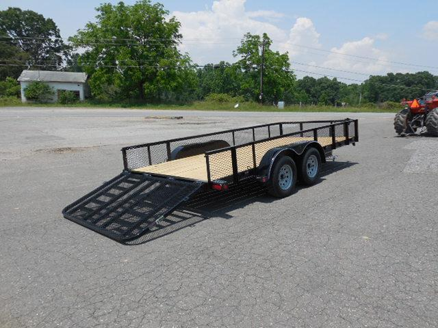 2016 Load Trail BP 83 x 16 TA Equipment Trailer