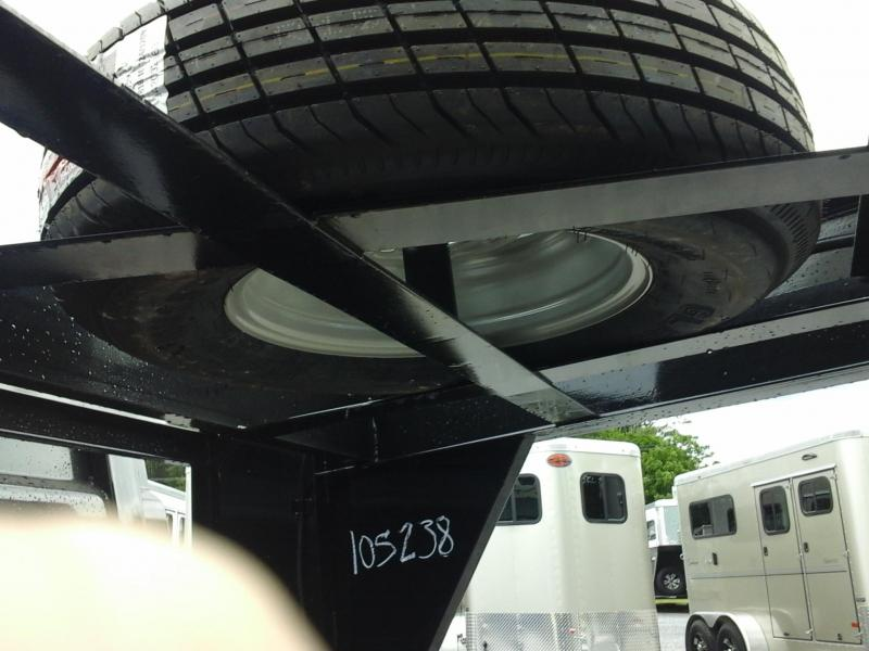 """2017 Load Trail 83"""" X 12' Tandem Low Pro Gooseneck Dump Trailer"""