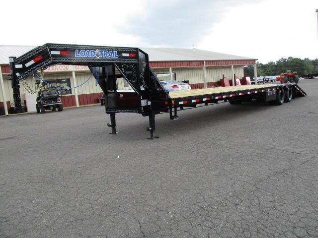 2018 Load Trail 102 x 40 Low Pro Hyd Dove Equipment Trailer