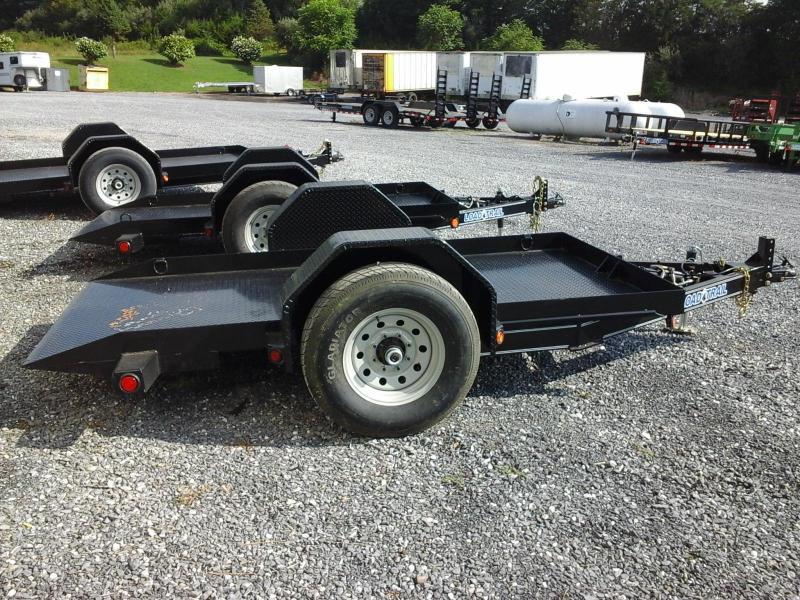 2017 Load Trail 60 x 10 BP Single Axle Scissor Lift Hauler ATV Trailer