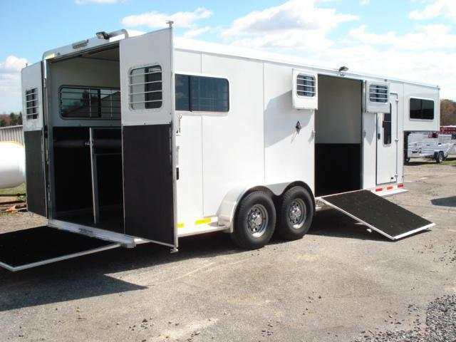 2008 Shadow Trailers GN 2 + 1 w/Dress Horse Trailer