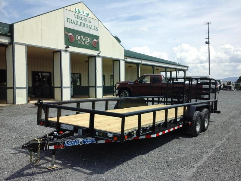 2017 Load Trail 83 x 22 TA Carhauler W/ 5\' Channel Frame & Side ...