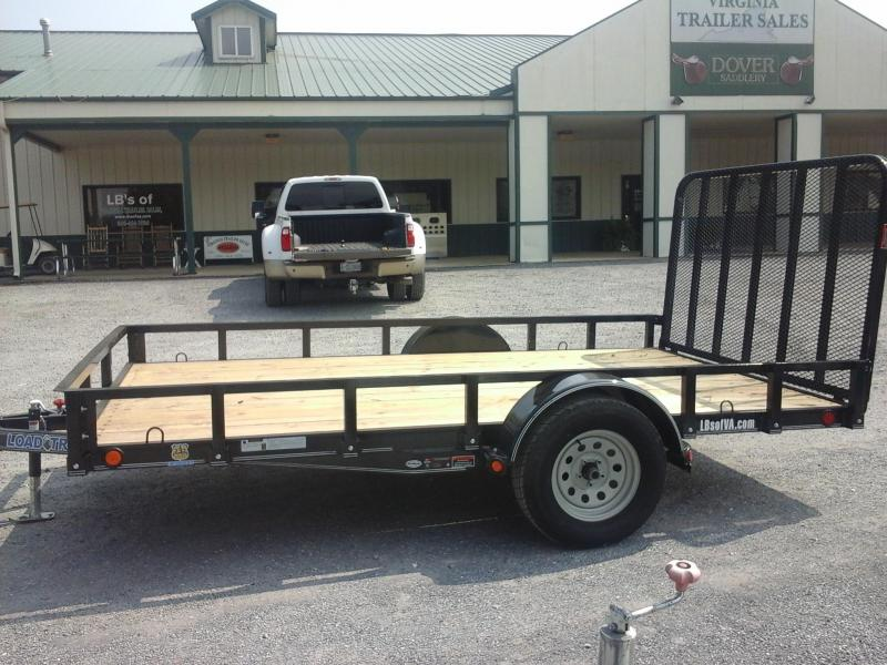 2018 Load Trail 83 x 12 Single Axle Utility Trailer