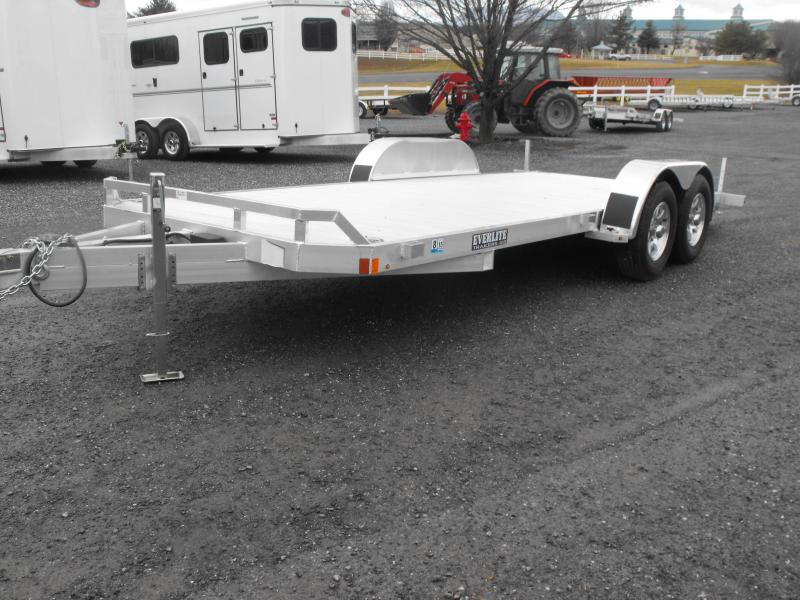 2014 EverLite Inc. ch 82x18 10k Utility Trailer