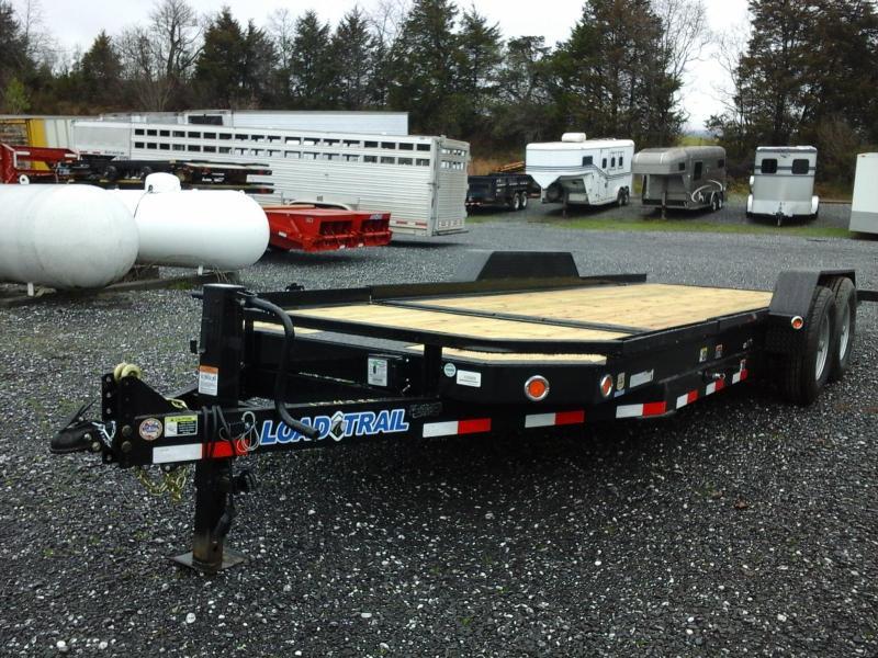 2015 Load Trail 83 X 21 Low Pro Tilt Deck Equipment Trailer